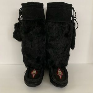 Moccasin Mukluk-style Slippers GUC